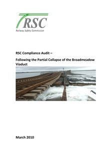 Compliance Audit Following the partial collapse of the Malahide  Viaduct