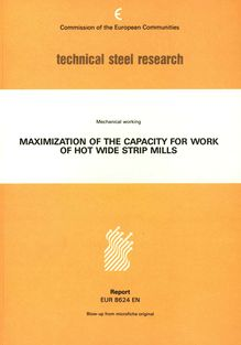 Maximization of output capacity of hot strip mills