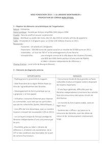 Corrigé Bac 2014 (Pondichéry) - Série STMG - Management