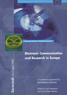 Electronic communication and research in Europe