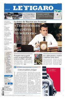 Le Figaro du 14-01-2019