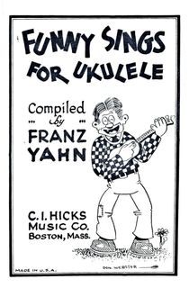 Partition Complete Book, Funny Sings pour Ukulele, Various