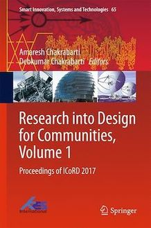 Research into Design for Communities, Volume 1