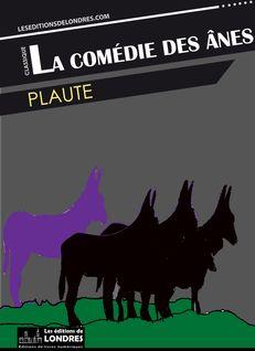 La comédie des ânes de Plaute - fiche descriptive