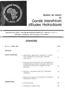 Hydrogéologie statistique du socle précambrien de la République Centrafricaine : Principaux résultats du Programme d'Hydraulique Villageoise en Zone Cotonnière - Michel Detay, Clément Doutambaye