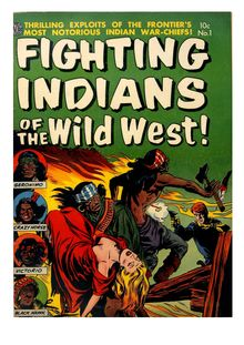 Fighting Indians of the Wild West 001
