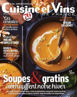 Cuisine et Vins de France du 17-01-2019 - Cuisine et Vins de France
