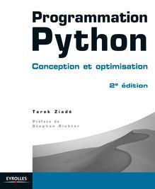 Programmation Python de Ziadé Tarek - fiche descriptive