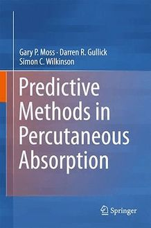 Predictive Methods in Percutaneous Absorption