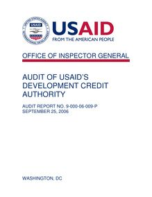 Audit of USAID