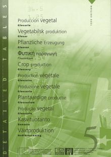 Crop production. Glossary