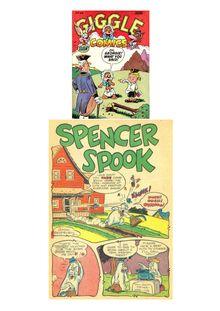 Giggle Comics 044 (Spencer Spook) de  - fiche descriptive