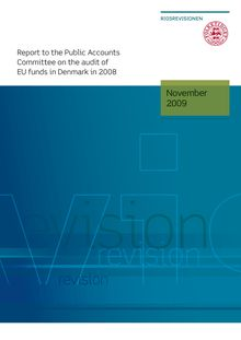 Report on the audit of EU funds in Denmark in 2008