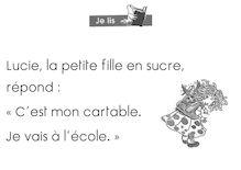 Lecture CP – Méthode Abracadalire - La boîte de Lucie