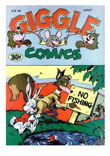 Giggle Comics 010 de  - fiche descriptive