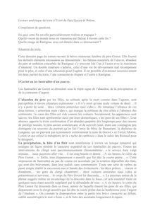 Lecture analytique du Père Goriot de Balzac