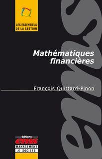 Mathématiques financières - François QUITTARD-PINON