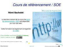 Cours de référencement / SOE