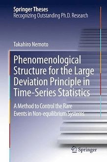 Phenomenological Structure for the Large Deviation Principle in Time-Series Statistics