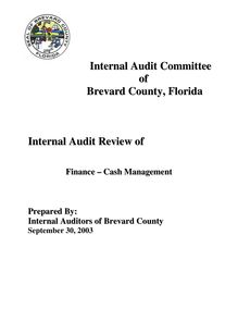 Internal Audit Committee of