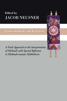 Form-Analysis and Exegesis