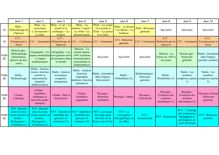 Bac S - Planning révisions