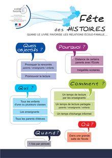 La fête des histoires