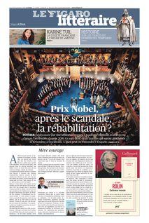 Figaro Littéraire du 26-09-2019 - Figaro Littéraire
