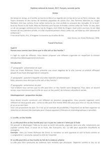 Brevet - 2017 - Corrigé - français - partie II