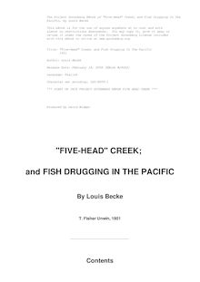 """Five-Head"" Creek; and Fish Drugging In The Pacific - 1901"