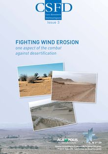 Fighting wind erosion. one aspect of the combat against desertification