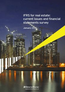 IFRS for real estate: current issues and financial statements survey