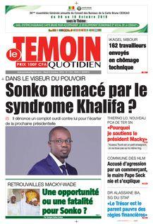 Le Temoin du 08-10-2019 - Le Temoin