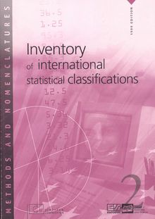 Inventory of international statistical classifications