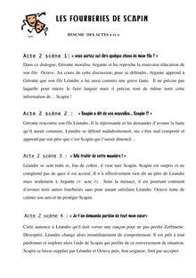 Resume des fourberie de scapin informational cover letter