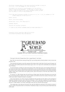 The Great Round World and What Is Going On In It, Vol. 1, No. 54, November 18, 1897 - A Weekly Magazine for Boys and Girls