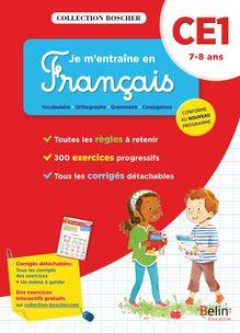 Je m'entraîne en français CE1 - Cahier