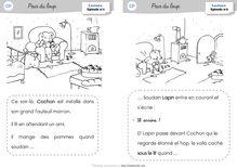 Lecture CP – Peur du loup (Mika) - Le texte illustré