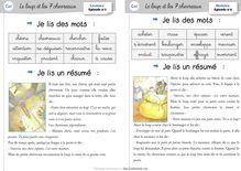 Lecture / Littérature CP-CE1 : Le loup et les 7 chevreaux - Cahier de lecteur CE1