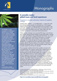 Promotional flyer — Monographs — Cannabis