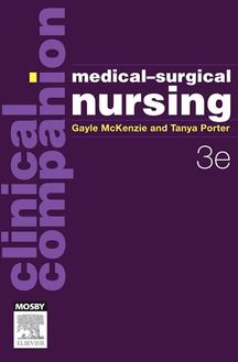 Clinical Companion: Medical-Surgical Nursing - eBook