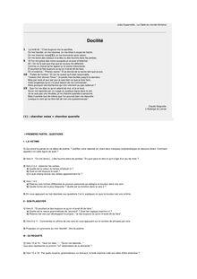 Brevet 2003 Français