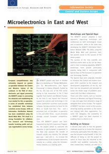 Microelectronics in East and West