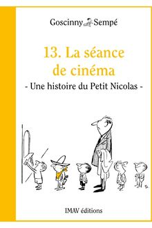La séance de cinéma de Jean-Jacques Sempé, René Goscinny - fiche descriptive