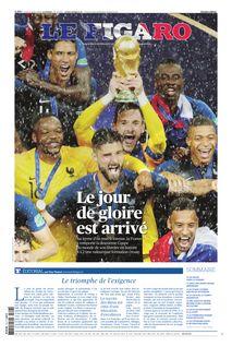 Le Figaro du 16-07-2018 de Le Figaro - fiche descriptive