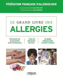 Le grand livre des allergies de Fédération française d'allergologie - fiche descriptive