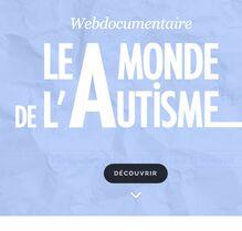 Un parcours pour mieux comprendre l'autisme par TV5 Monde