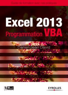Excel 2013 - Programmation VBA - David Daniel-Jean