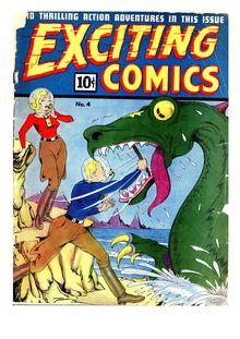 Exciting Comics 004 (diff ver.) de  - fiche descriptive