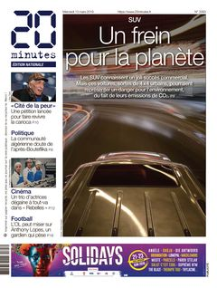 20 minutes Edition Nationale du 13-03-2019